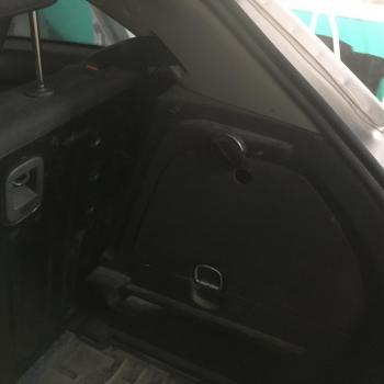 Заправочное устройство установлено в багажник