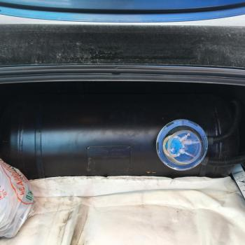 Цилиндрический баллон объемом 80 литров