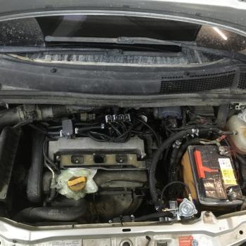 Установка ГБО на Opel Zafira 2003 г.в.