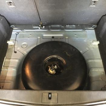 Тороидальный баллон объемом 42 литра вместо запасного колеса