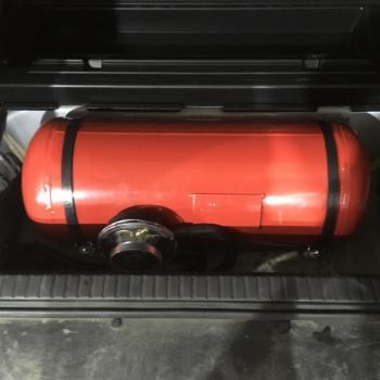 Цилиндрический баллон объемом 50 литров