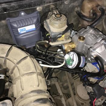 Блок управления Digitronic MP32 и редуктор Tomasetto AT12